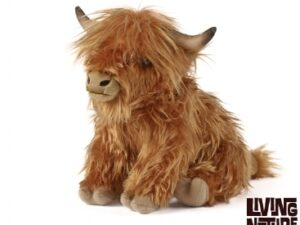 Living Nature Highland Cow Large with Sound