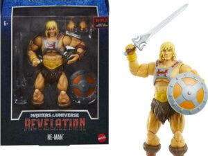 Masters of the Universe Masterverse Revelation He-Man Action Figure – GYV09