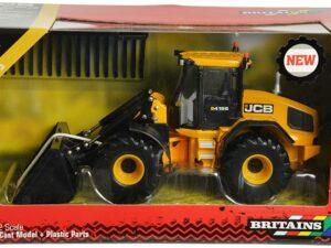 Britains JCB Farm Tomy Toys – Wheel Loading Shovel