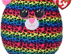 TY 39186- Dotty Leopard Squish A Boo Plush Toy