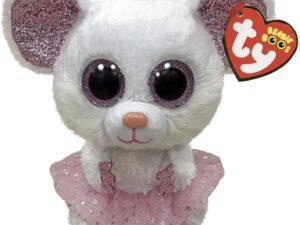 TY 36365 – Nina Mouse With Tutu Beanie Boo Plush Toy
