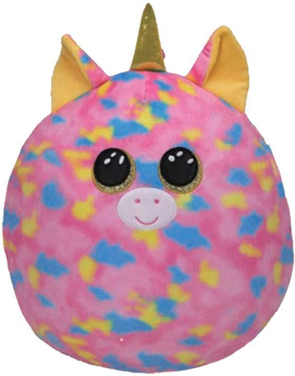 TY 39287- Fantasia Unicorn Squish A Boo 10″ Plush Toy