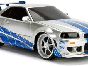 Fast & Furious RC Nissan Skyline GTR 1:24 Scale