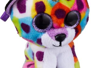 TY 35229 Giselle Leopard W/Horn-Boo Key Clip, Multicolored