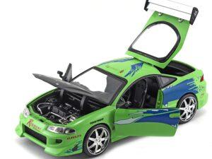 Fast & Furious 1995 Mitsubushi Eclipse 1:24 Scale Die-Cast Replica Car