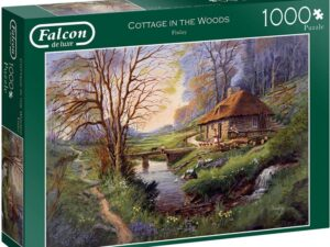 Falcon De Luxe Cottage In The Woods 1000pc Puzzle