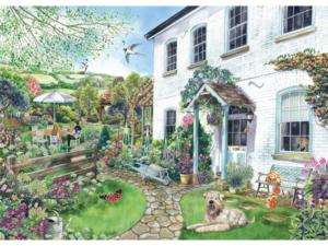 Falcon De Luxe Cottage With A View 1000pc Puzzle