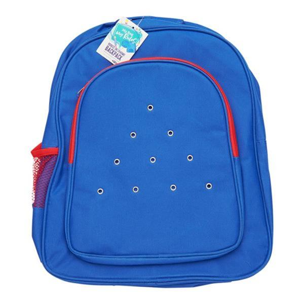 Hooked On Charms Backpack – Blue
