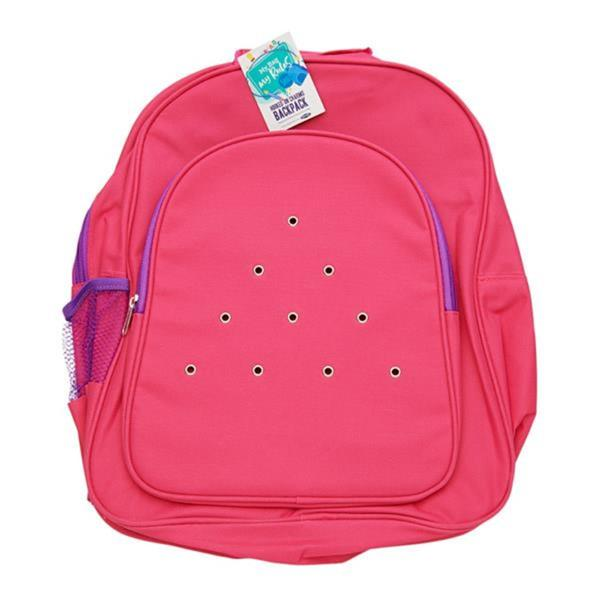 Hooked On Charms Backpack – Pink