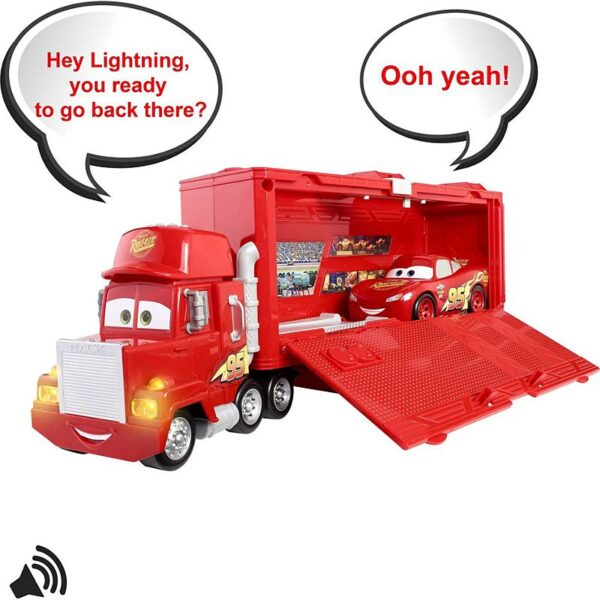 Disney Pixar Cars Track Talkers Chat & Haul Mack