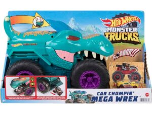 Hot Wheels Monster Trucks Car Chompin' Mega-Wrex Vehicle
