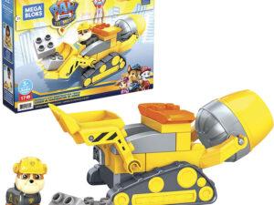 Mega Bloks® PAW Patrol: The Movie – Rubble's City Construction Truck Set – GYW91