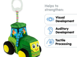 Lamaze TY L27411 John Deere Tractor Clip & Go Toy