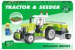 241pc Tractor & Seeder Brick Set In Colour Box