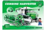 344pc Combine Harvester Brick Set In Colour Box