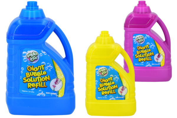 1.8 Litre Bubble Solution Refill Bottle With Funnel