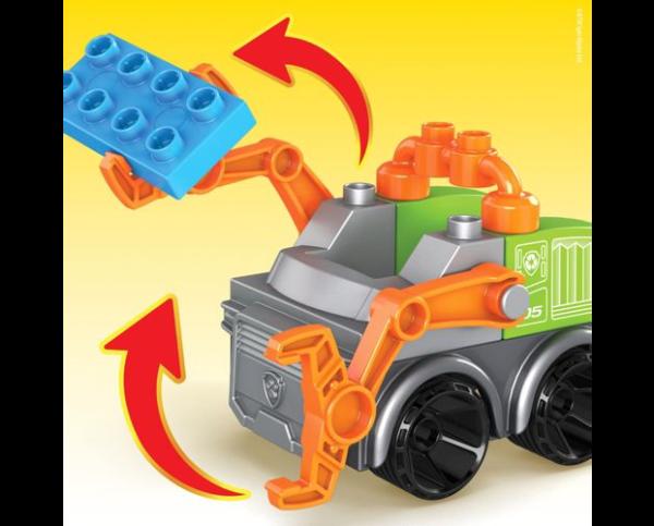 Mega Bloks PAW Patrol: The Movie – Rocky's City Recycling Truck Set