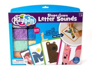 Playfoam Shape & Learn Letter Sounding