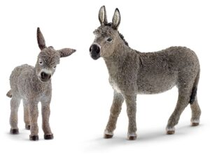 Schleich 13849 Donkey and Foal