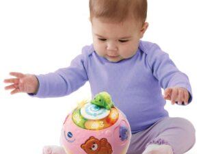 VTech Crawl & Learn Bright Lights Ball Pink