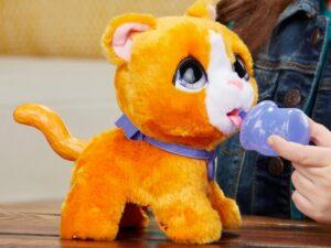 FurReal Peealots Big Wags Pet Cat