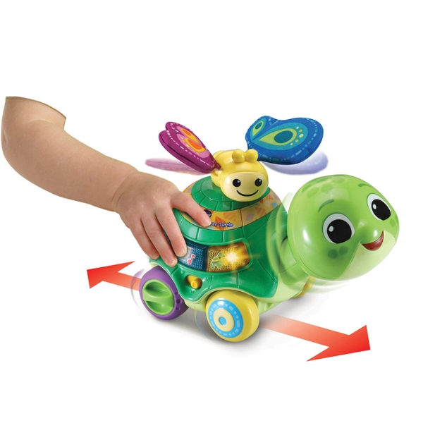 VTech 2-in-1 Push and Discover Turtle
