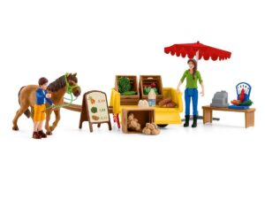 Schleich 42528  Sunny Day Mobile Farm Stand