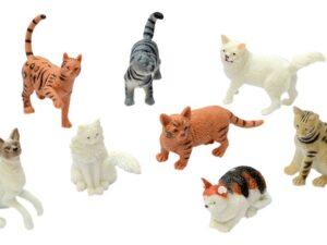 Peterkin Classics 21041 Cats Pet World Figure Set
