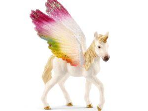 Schleich 70577 Winged rainbow unicorn foal
