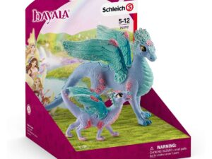 Schleich 70592 Blossom dragon mother and child