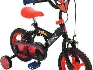 Spiderman My First 12inch Bike Black/Red
