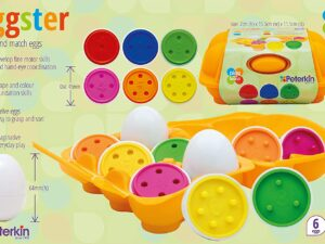 Peterkin Eggster Count and Match Eggs
