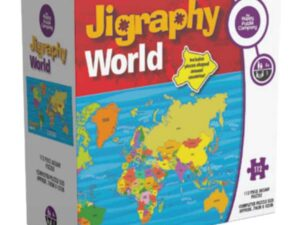 The Happy Puzzle Company Jigraphy World