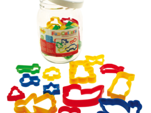 Bigjigs Jar of 24 Pastry Cutters