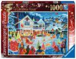 Ravensburger The Christmas House 1000pc – 16849