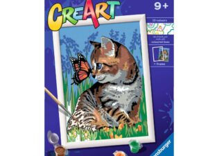 Ravensburger CreArt Best Friends Paint By Numbers For Children – Painting Arts and Crafts For Kids Age 9 Years and Up – 28935