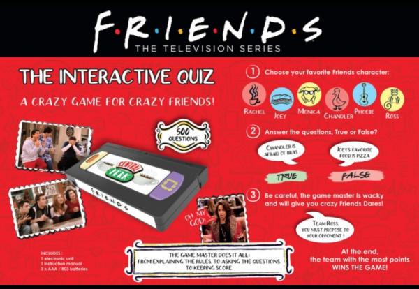 Interactive Friends Quiz