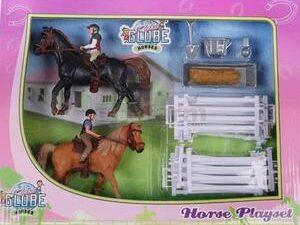 Kids Globe Horses & Riders Playset