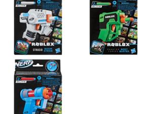 Hasbro F2490 NERF Roblox Microshots Assorted