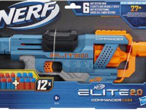 Hasbro E9485 Nerf Elite 2.0 Commander RD-6 Blaster