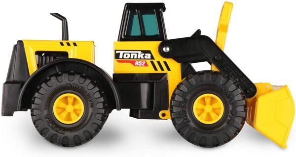 Tonka Steel Classic Front Loader Dumper Truck