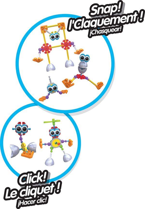 K'Nex Kid Rockin Robots Building Set