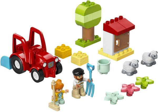 LEGO 10950 DUPLO Town Farm Tractor & Animal Care Toddler Toy