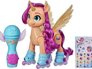 Hasbro F1786 My Little Pony A New Generation Movie Sing 'N Skate Sunny Starscout