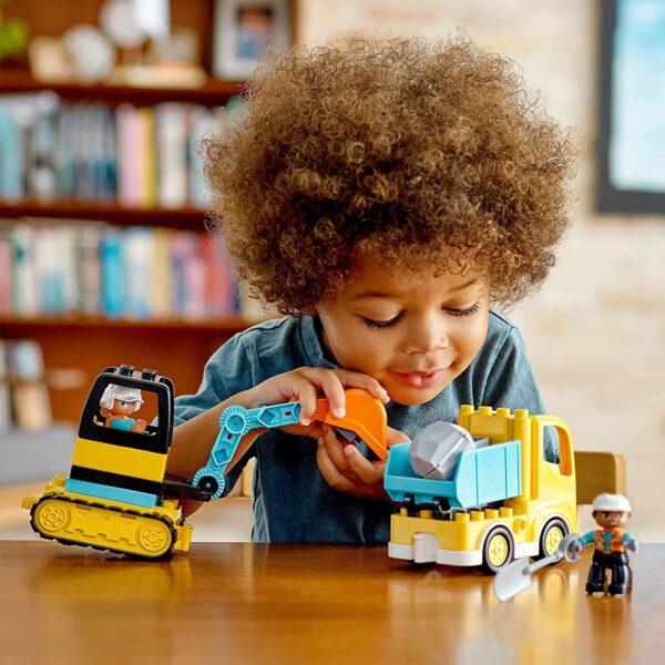 LEGO DUPLO 10931 Truck & Tracked Excavator V29