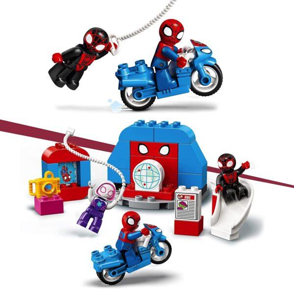 LEGO 10940 DUPLO Marvel Spider-Man Headquarters Building Toy