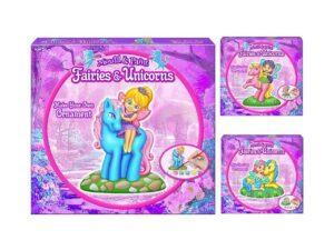 Androni Mould & Paint Fairies & Unicorns