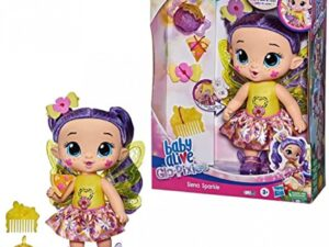 Hasbro F2593 Baby Alive GloPixies Doll Siena Sparkle